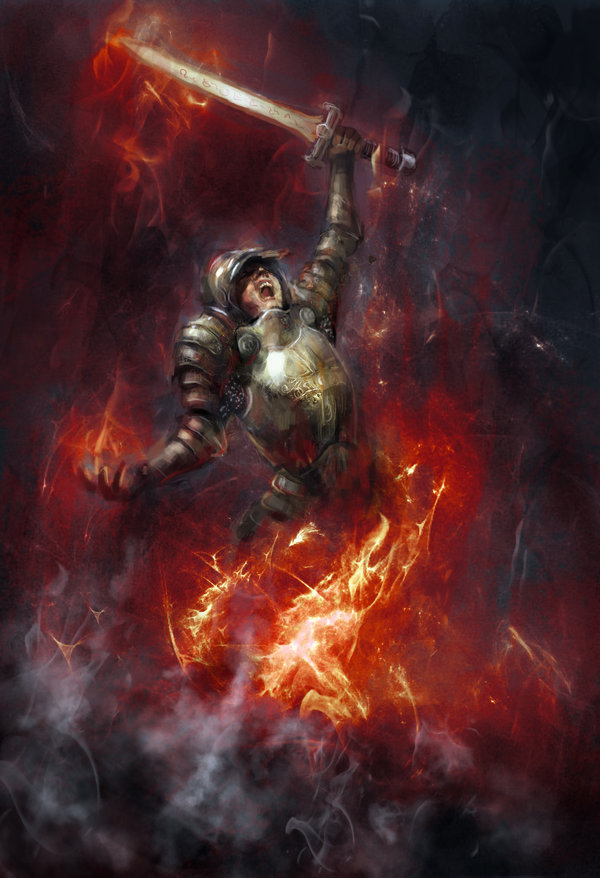 A paladin rising from the Corpses- a poem for Sanga