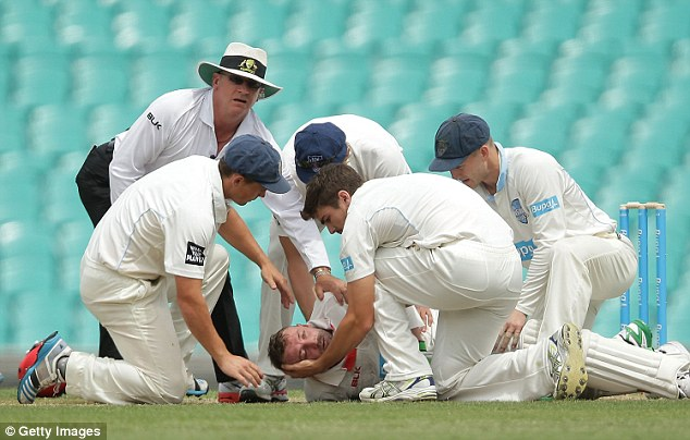 """""""Come on"""" cricket, Phillip Hughes wants you to smile"""