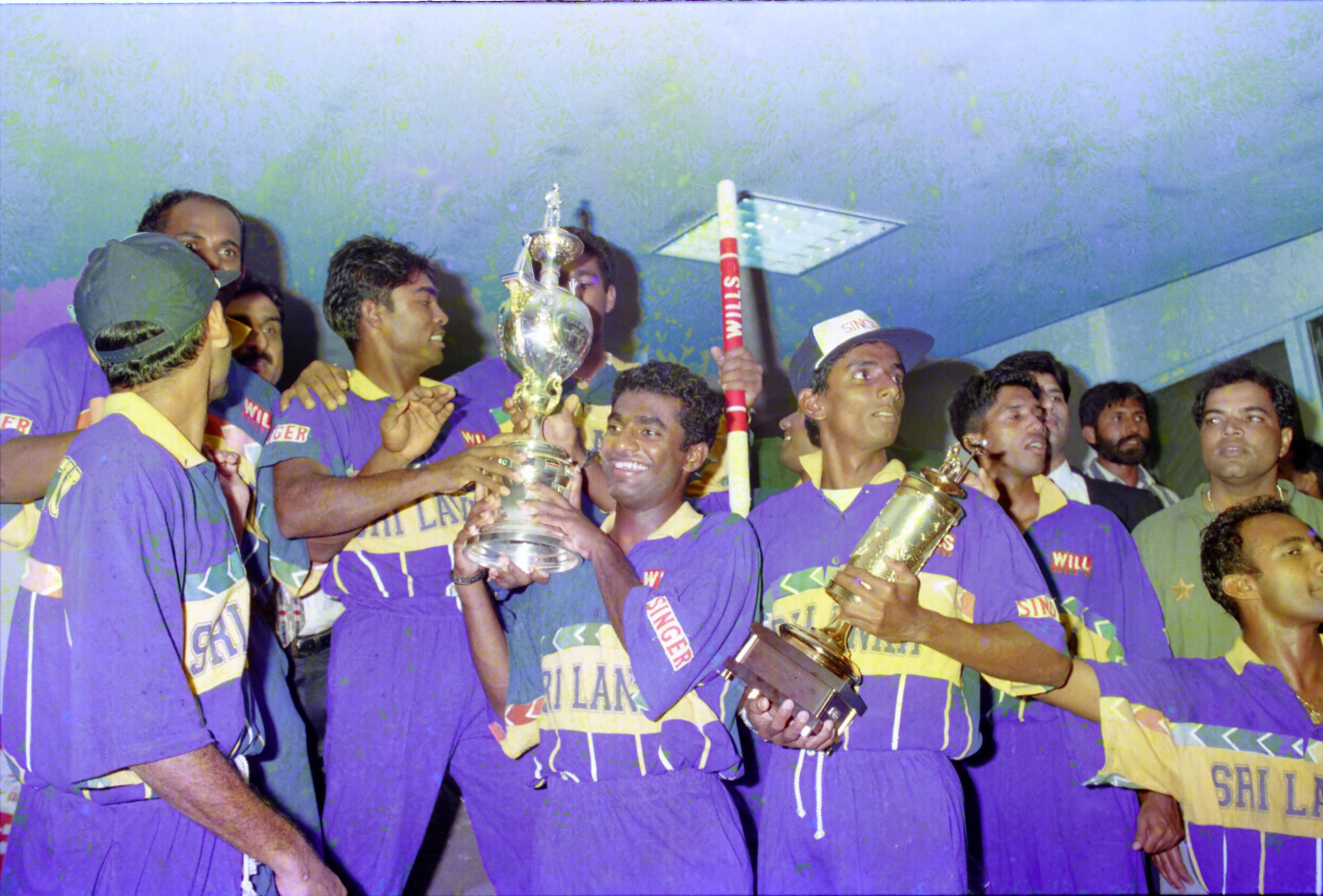 Sri Lanka's all-time Cricket World Cup XI